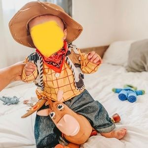 Woody cowboy outfit costume